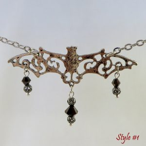 Bats in the Belltower (Style #1) - Necklace - Weezie World