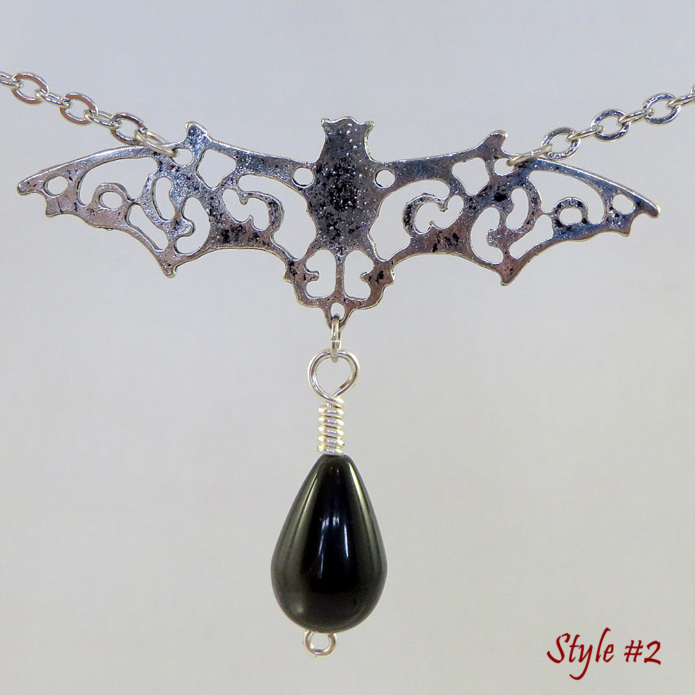Bats in the Belltower (Style #2) - Necklace - Weezie World
