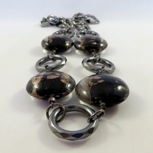Gunmetal & Bronze - Necklace - Weezie World
