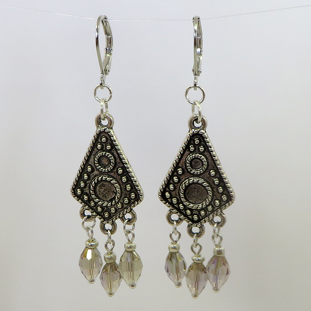 Boho Champagne Earrings - Weezie World