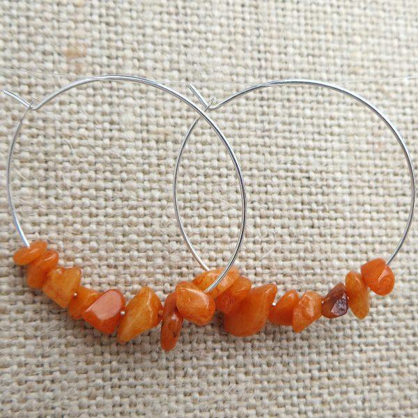 My (Semi) Precious - Earrings - Weezie World