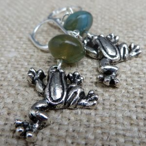 Froggie Went A-Courtin' - Earrings - Weezie World