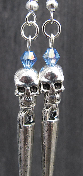 Heavy Metal Skullies (Icy Blue) - Weezie World