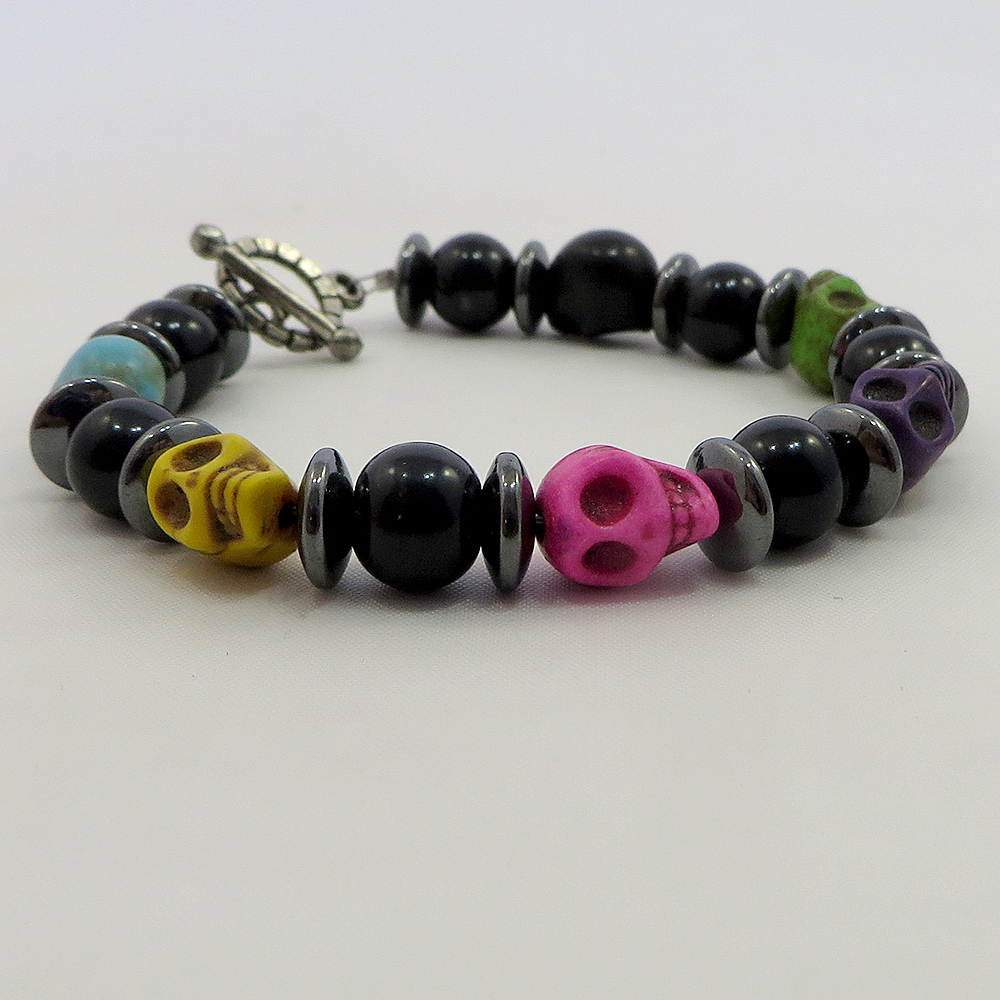 Skulls Ahoy (Multi) - Bracelet - Weezie World