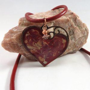 Painted Heart - Necklace - Weezie World