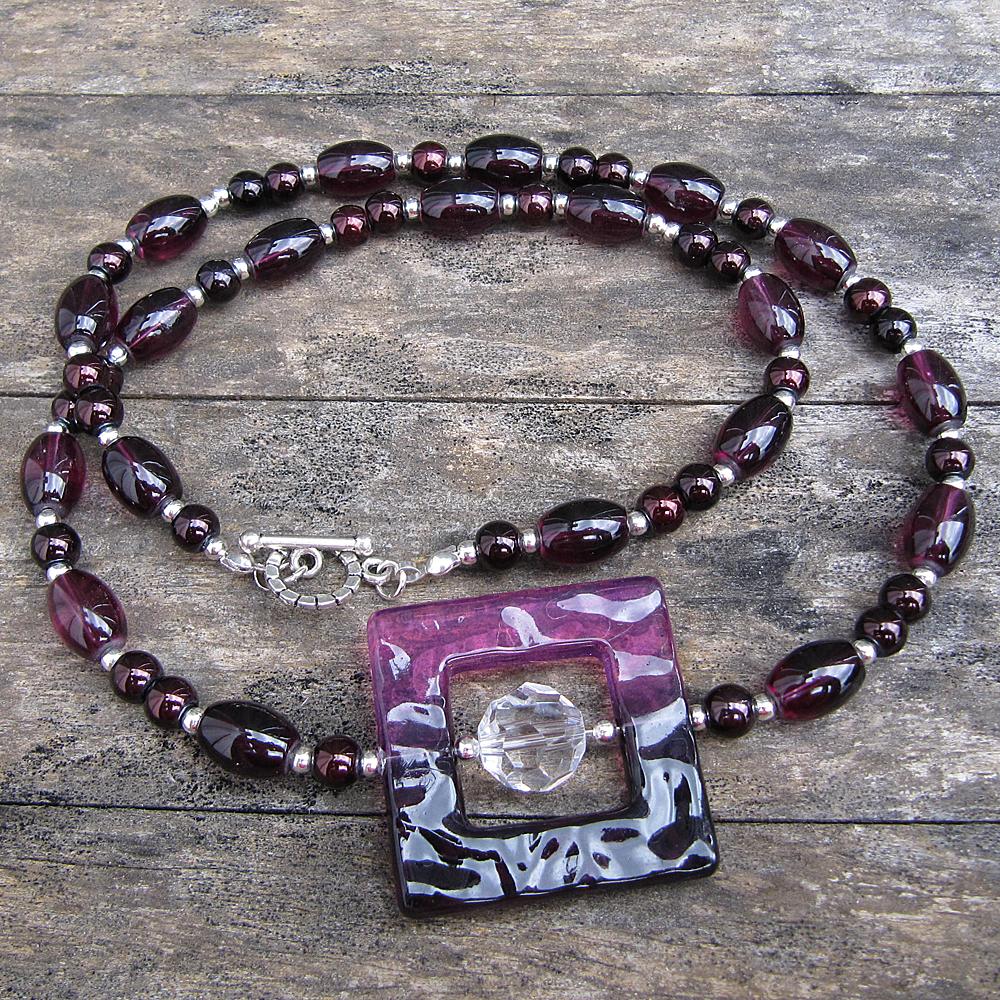 Deep Purple - Necklace - Weezie World