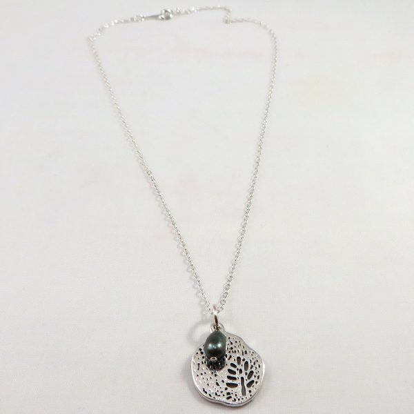 Out on a Limb (Slate) - Necklace - Weezie World