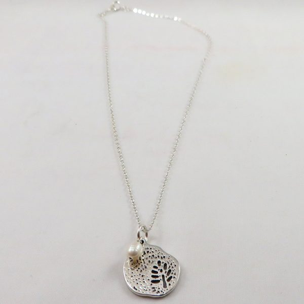 Out on a Limb (White) - Necklace - Weezie World