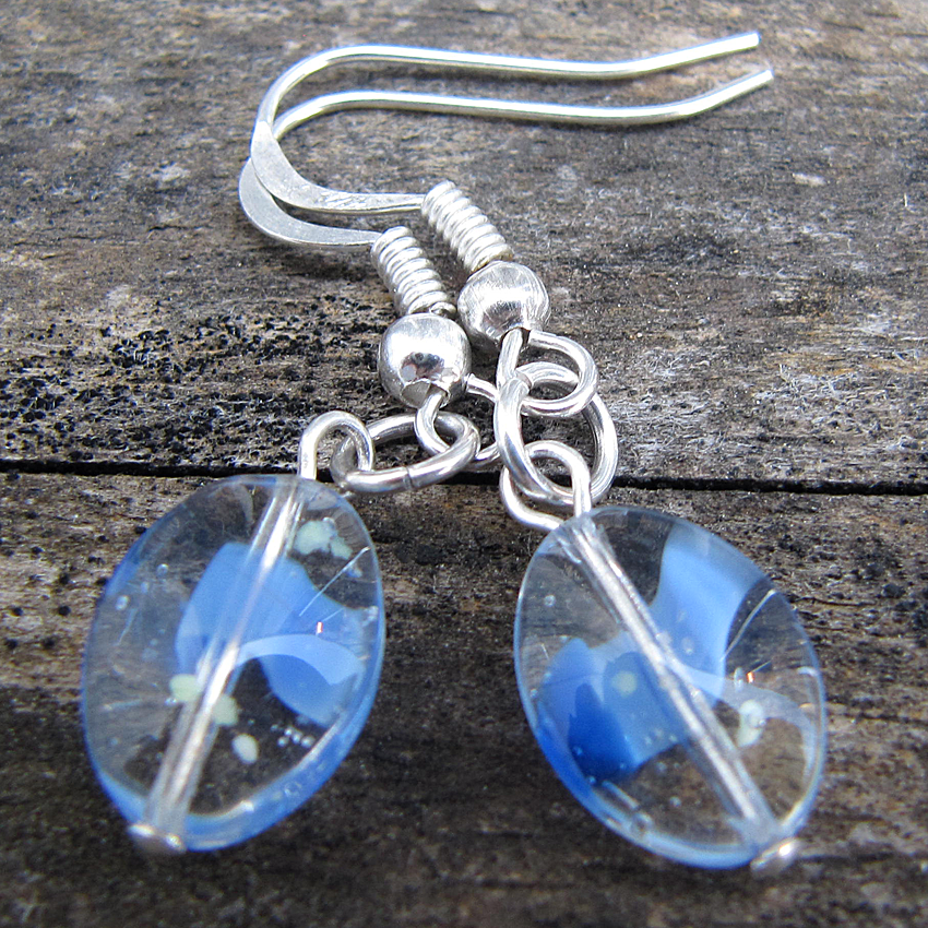 Blue Tears Earrings - Weezie World